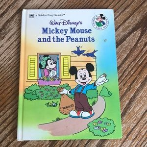 VINTAGE Disney easy reader Mickey Mouse golden